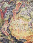 Henri Edmond Cross The Clearing china oil painting reproduction